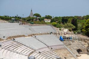 Das Amphitheater von Syracus