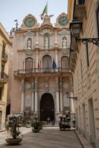Die Kathedrale von Trapani