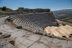 Grossartiger Ausblick vom Amphitheater
