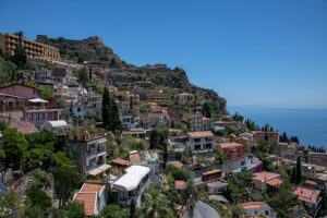 Ueberblick auf Taormina