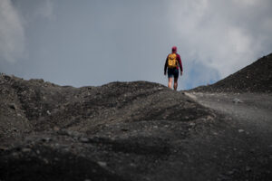 Wanderung durch die vulkanwueste