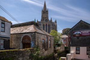 Blick auf die kathedrale von Truro Hauptstadt von Cornwall