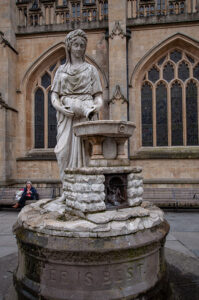 Brunnen in Bath