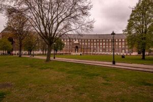 College Green und Rathaus