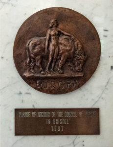 Europa plakette