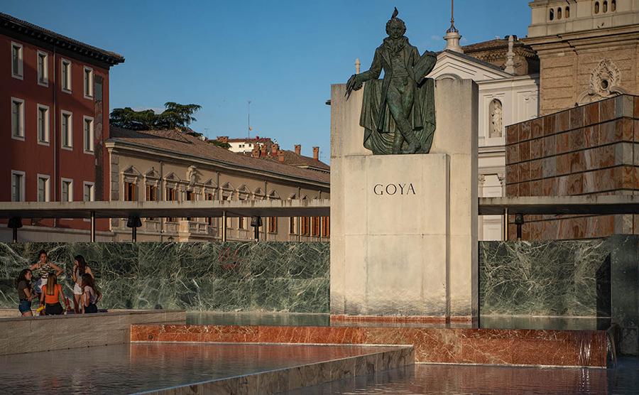 In Saragossa ist Goya geboren