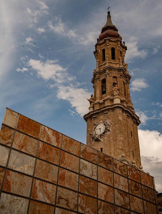 Dei Basilika von Saragossa ist ein wichtiges Pilgerzenzrum