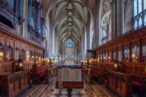 Kathedrale Bristol innen vom Altar aus