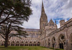 Kathedrale Innenhof Salisbury