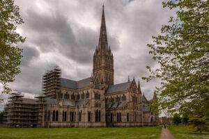Salisbury Kathedrale Seite