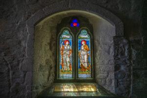 St. Materiana´s Kirche Fenster