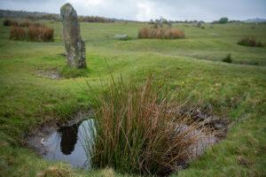 Wasser im Bodmin Moor