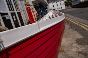 altes Ruderboot in St. Mawes