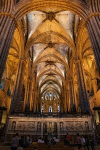in der alten kathedrale