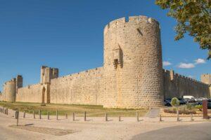 Aigues Mortes Stadtmauer Kopie