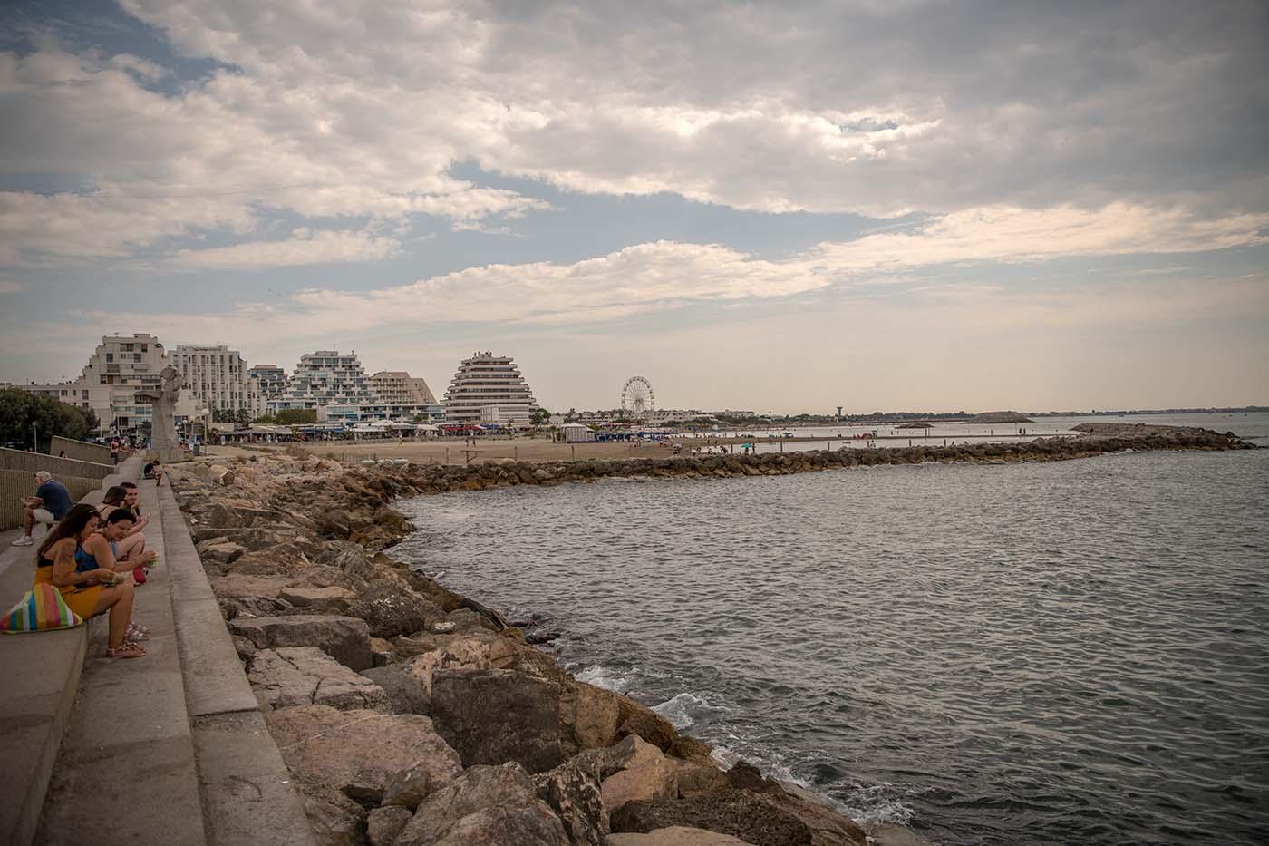 Am Hafen von La Grande Motte