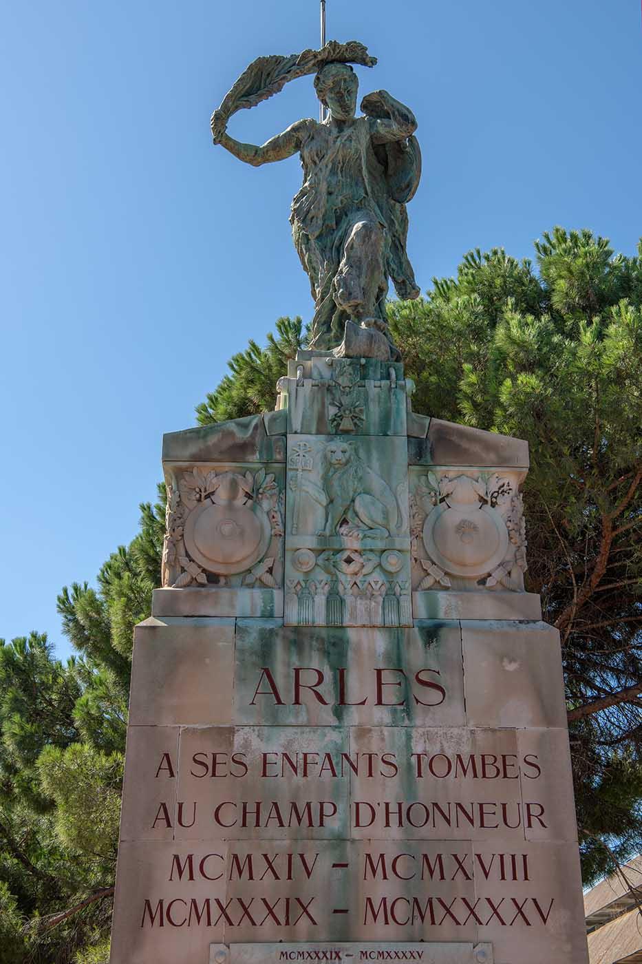 Arles Kriegerdenkmal