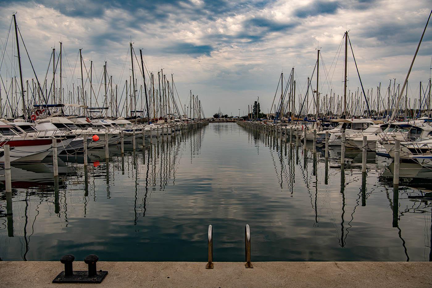 Der Hafen von La Grande Motte