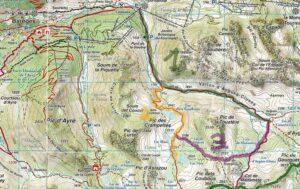 Gebiet Suedoestlich Bareges Pyrenaeen vallon dAYGUES CLUSES pyrenaeen