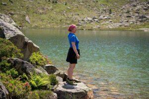 Lac de Caderolles ou se la Manes