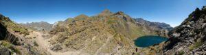 Panorama am COL de la Bernatoire