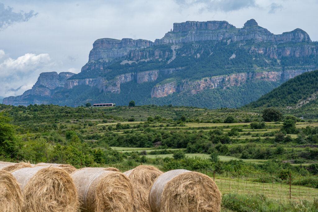 Tolle Berge und Schluchten in den aragonesischen Pyrenäen