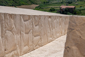 Imposant wirkt de Beton