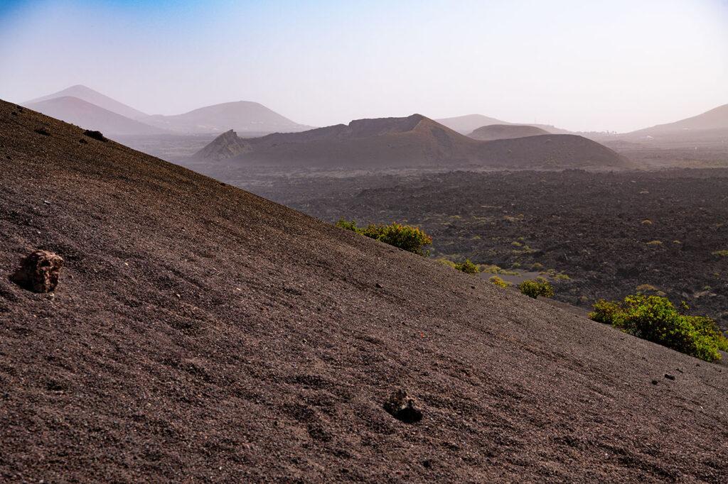 Die Feuerberge auf Lanzarote sind eine der Hauptattraktionen
