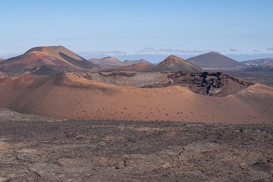 lanzarote , in tollen Vulkanlandschaften wandern