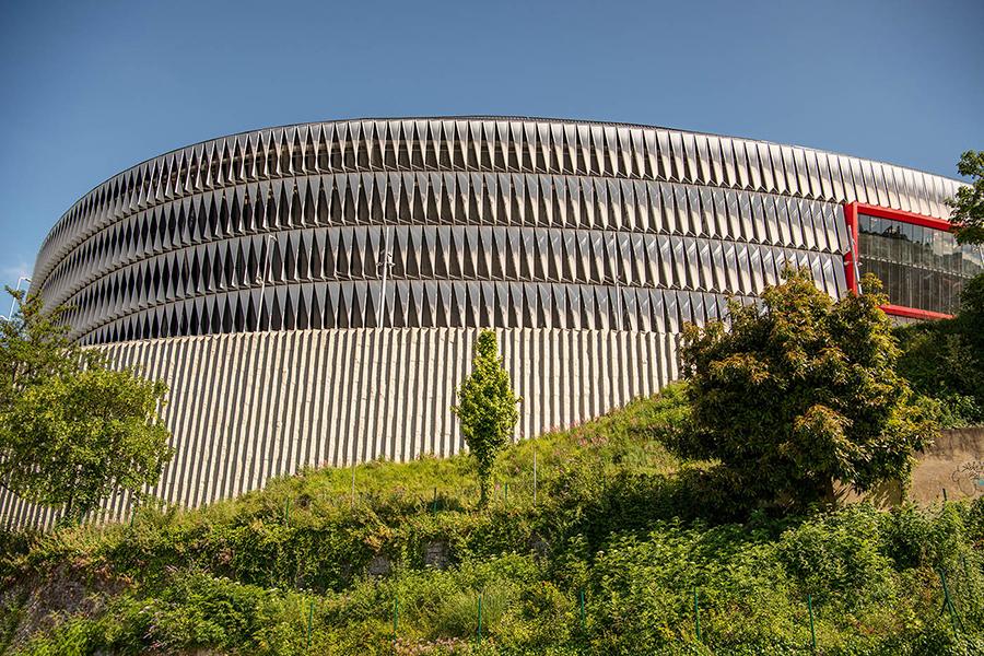 Das Fußballstadion in Bilbao gilt als eines der schönsten in Nordspanien