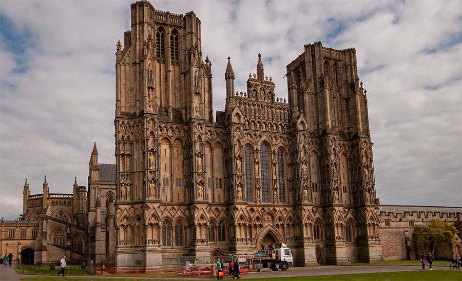 Kathedrale von Wells in Sommerset