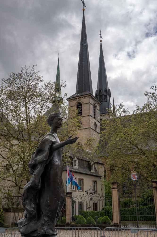 Kathedrale luxenburg 1