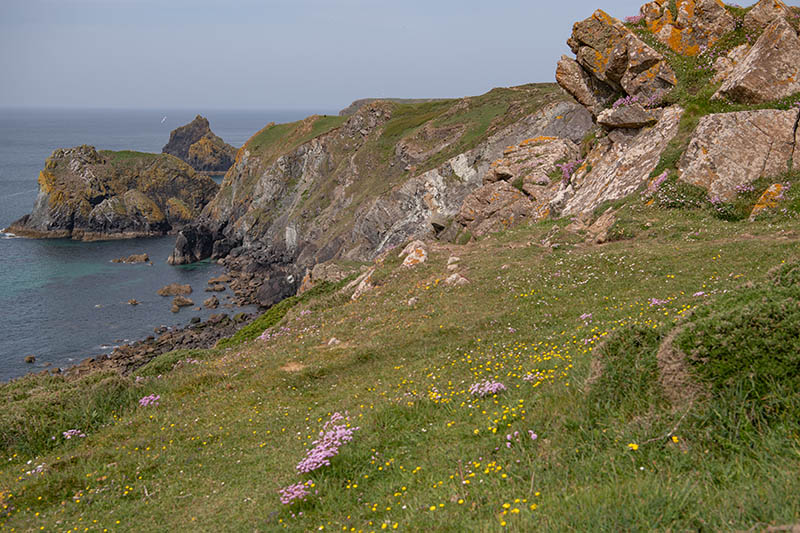 Lizard Point in Cornwall, der südlichste Punkt Englands