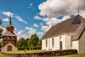 Mattmars kyrka mattmars kirche