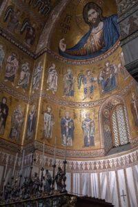 Mosaikarbeiten im DOM 1