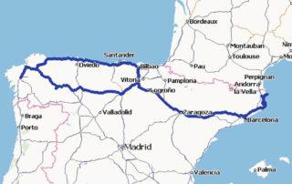 Roadtrip durch Nordspanien