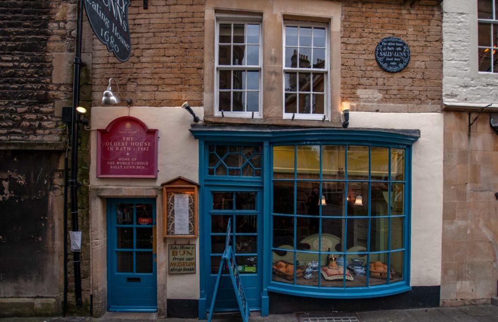 Das älteste haus in Bath