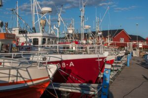 fischerboote andenes