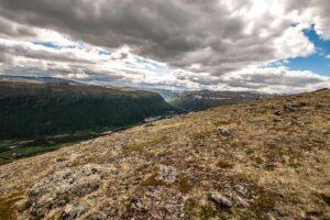 karge landschaft im nationalpark