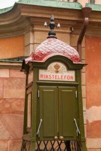 telefonhaus in schweden