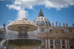 vatikanstadt Fontana del Bernini